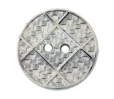 Пуговица металлизированная