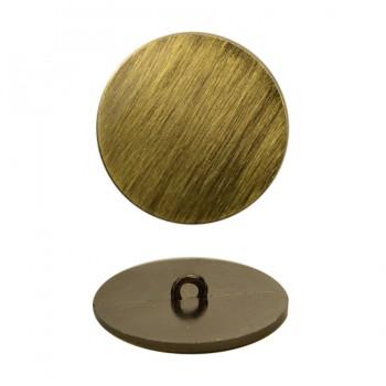 Пуговица металлическая, 60L, цвет тертый антик