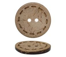 Пуговица из натуральных материалов кокос