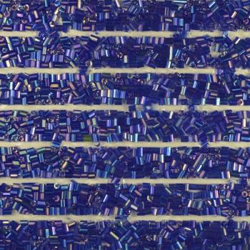 Клеевой бисер на листах, цвет синий