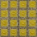 Стразы клеевые на листах, цвет серебро+желтый
