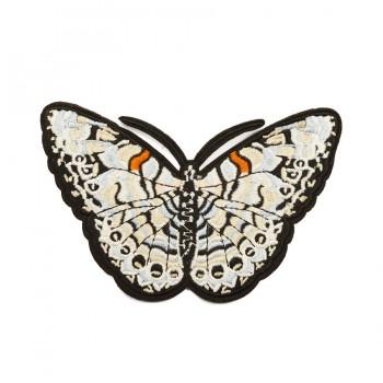 Аппликация клеевая, вышивка текстильная,  Бабочка , цвет разноцветный