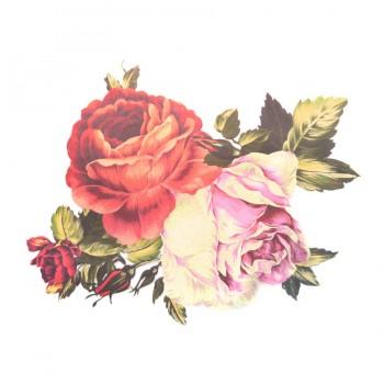 Аппликация клеевая, принт,   Цветы , цвет разноцветный