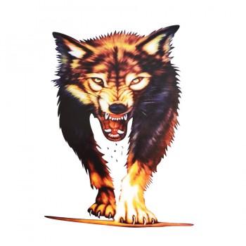 Аппликация клеевая, принт,  Волк , цвет разноцветный
