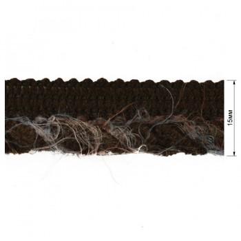 Кант декоративый, цвет коричневый