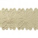 Кружево синтетич., цвет белый