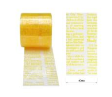 Тесьма отделочная из полимерных материалов