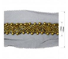 Тесьма декоративная из бисера
