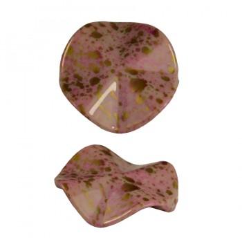 Бусины декоративные, цвет розовый