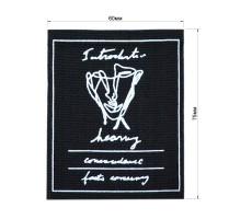 Нашивка декоративная текстиль