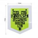 Нашивка-аппликация декоративная силикон, Карман, цвет прозрачный+салатовый