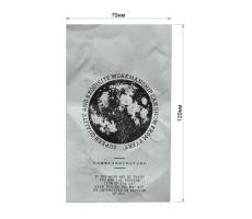 Нашивка декоративная бумага-крафт