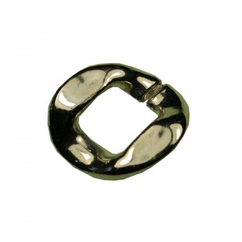 Звено цепи пластм., маленькое, цвет никель