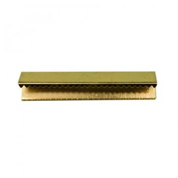 Зажим-украшение металлическое, 40мм, цвет золото
