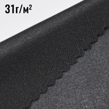 Дублерин (31г/кв.м), цвет черный