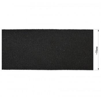 Довяз (манжета), цвет  черный+люрекс