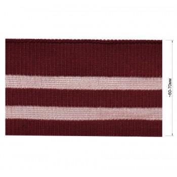 Довяз (манжета), цвет бордо