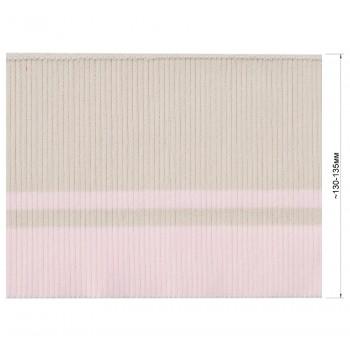 Довяз (манжета), цвет бежевый+розовый