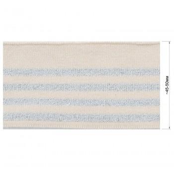 Довяз (манжета), цвет бежевый+cеребро