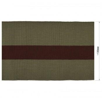 Довяз (манжета), цвет хаки+коричневый