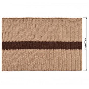 Довяз (манжета), цвет бежевый+коричневый