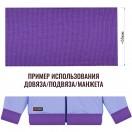 Довяз (манжета), цвет фиолетовый