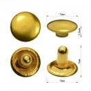 Хольнитен металлический,  7мм, цвет желтое золото