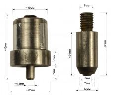 Матрица на блочку  0051ЛЮ (5 мм)
