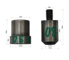 Матрица-пробойник на люверс 10361ЛЮ (15х30 мм)