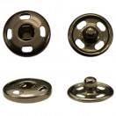 Кнопка металлическая, пришивная,10мм цвет оксид
