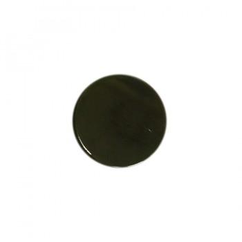 Кнопка установочная металлическая, 12,5мм цвет оксид