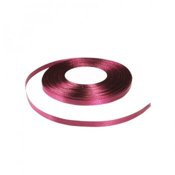 Лента атласная 0.5см, цвет 027-малиновый