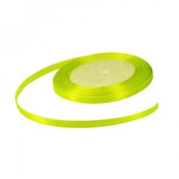 Лента атласная 0.5см, цвет 058-лимонный