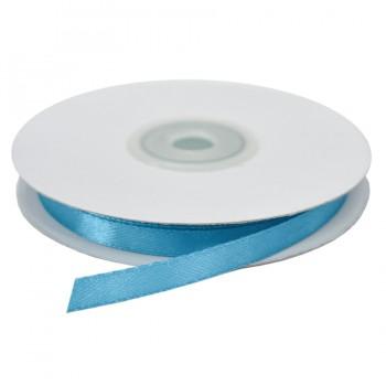 Лента атласная 0.6см, цвет 208-бирюзовый