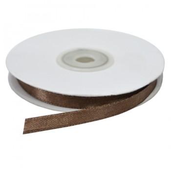Лента атласная 0.6см, цвет 301-коричневый