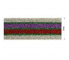 Резинка декоративная с люрексом 2см