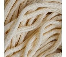 Шнур круглый полиэфирный 4.5мм цвет 130 молочный