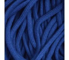 Шнур круглый хлопковый плетельный с наполнителем 6мм цвет 023 василек