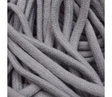 Шнур круглый хлопковый плетельный с наполнителем 6мм цвет 026 сиреневый