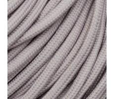 Шнур круглый полиэстер плетельный с наполнителем 6мм цвет 135 пудра