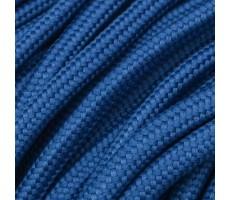 Шнур круглый полиэстер плетельный с наполнителем 6мм цвет 80 синий