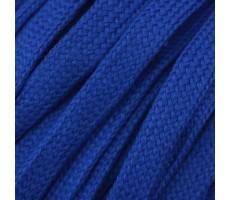 Шнур плоский  хлопок+полиэстер 10мм цвет 14 синий