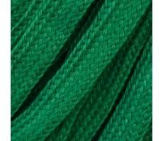 Шнур плоский  хлопок+полиэстер 10мм цвет 18 зеленый