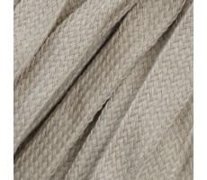 Шнур плоский  хлопок+полиэстер 10мм цвет 24 бежевый