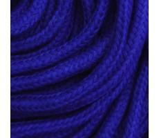 Шнур круглый хлопок+полиэстер с наполнителем 6мм цвет 28 синий