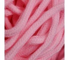 Шнур круглый хлопок+полиэстер с наполнителем 6мм цвет 4 розовый