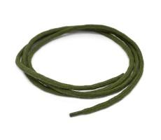 Шнурок круглый хлопковый плетельный с наполнителем 6мм