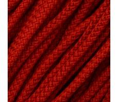 Шнур круглый полиэфирный с наполнителем 4.5мм цвет 115 красный
