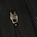 Молния металлическая разъемная 3Т, 70см, без пуллера, зубцы оксид, цвет 322-чёрный