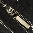 Молния металлическая неразъемная 5Т, 18см, слайдер палочка 13150, зубцы никель, цвет 322-черный
